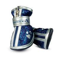 """Ботинки с """"лапками"""" (4,5х3,5х4,5 см; синие)"""