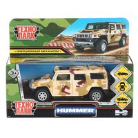 """Модель машины """"Hummer H2. Камуфляжй"""" (арт. HUM2-12MIL-BN)"""