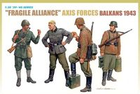 "Набор миниатюр ""Fragile Alliance Axis Forces Balkans 1943"" (масштаб: 1/35)"
