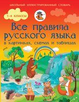 Все правила русского языка в картинках, схемах и таблицах. 1-4 классы