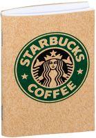 """Блокнот крафт """"Старбакс кофе"""" А7 (504)"""