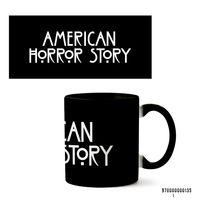 """Кружка """"Американская история ужасов"""" (135, черная)"""