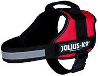 """Шлея тренировочная для собак """"Julius-K9"""" (0/M–L; 58-76 см; красная)"""
