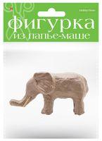 "Заготовка из папье-маше ""Слон"" (45х130х70 мм)"