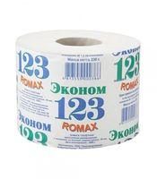 """Туалетная бумага """"Эконом - 123"""" (1 рулон)"""