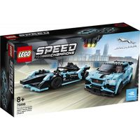 """LEGO Speed Champions """"Гоночные автомобили Formula E Panasonic Jaguar Racing GEN2 car & Jaguar I-PACE eTROPHY"""""""