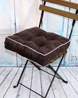"Подушка на стул ""Mojo"" (40х40 см; коричневая)"