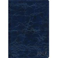 Ежедневник датированный на 2017 год (А5; 176 листов; синий)