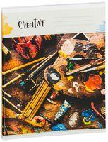 """Тетрадь полуобщая в клетку """"Pretty Creative"""" (48 листов; в ассортименте)"""