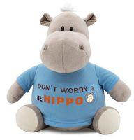 "Мягкая игрушка ""Бегемот Be Hippo"" (20 см)"