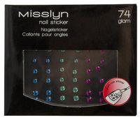 """Наклейки для дизайна ногтей """"Nailsticker"""" (тон: 74)"""