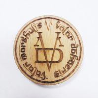 """Значок деревянный """"Игра Престолов. Valar Morghulis"""""""