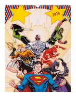 """Календарь настенный перекидной на 2020 год """"Вселенная DC Comics"""" (31х44 см)"""