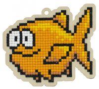 """Алмазная вышивка-мозаика """"Брелок. Морская рыба"""" (90х80 мм)"""
