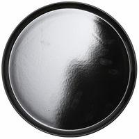 """Тарелка керамическая """"Nordic"""" (280 мм; черная)"""