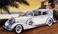 "Автомобиль ""Cadillac Town Car"" (масштаб: 1/24)"