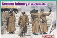 "Набор миниатюр ""German Infantry In Wachtmantel Leningrad 1943"" (масштаб: 1/35)"