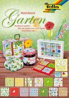 """Набор дизайнерского картона """"Сад"""" (240х340 мм; 26 листов)"""