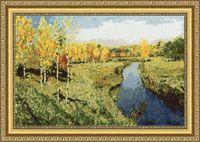 """Вышивка крестом """"Золотая осень"""" (230x350 мм)"""