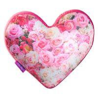 """Игрушка-антистресс """"Сердце 3D. Букет цветов"""" (28 см; розовый)"""