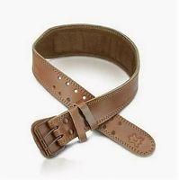 """Пояс тяжелоатлетический """"Premium Lifting Belt"""" (коричневый; L)"""