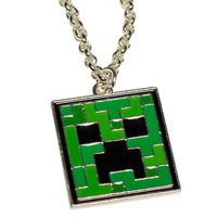 Кулон на цепочке Minecraft Creeper Necklace