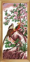 """Вышивка крестом """"Китайские птицы"""""""