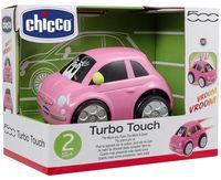 """Машинка инерционная """"Fiat turbo-touch 500"""" (розовая)"""