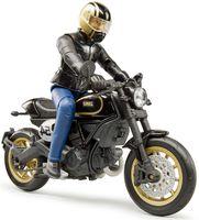 "Модель мотоцикла ""Scrambler Ducati Cafe Racer"" (масштаб: 1/16)"
