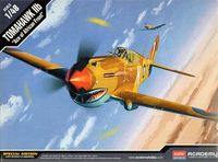 Самолет P-40C Tomahawk (масштаб: 1/48)