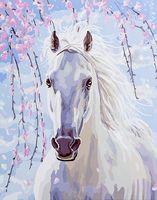 """Картина по номерам """"Белее снега"""" (400х500 мм)"""