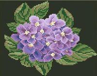 "Алмазная вышивка-мозаика ""Цветок гортензии"" (250х230 мм)"