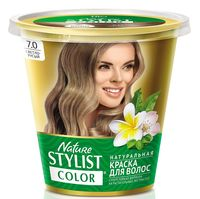 "Краска для волос ""Nature Stylist Color"" тон: 7.0, светло-русый"