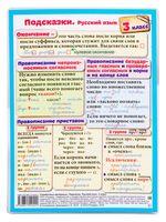 Справочные материалы: Подсказки. Русский язык. 3 класс