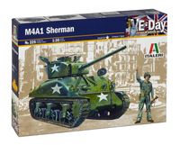 "Сборная модель ""Американский танк Sherman M4 A1"" (масштаб: 1/35)"