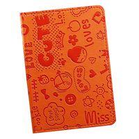 """Обложка для паспорта """"Happy Friends"""" (оранжевая)"""
