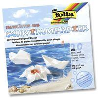 Бумага водоустойчивая для оригами (200х200 мм; 20 листов)