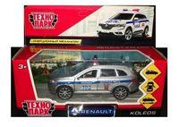 """Модель машины """"Renault Koleos. Полиция"""" (арт. KOLEOS-P)"""