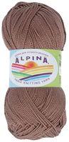 """Пряжа """"ALPINA. Holly №223"""" (50 г; 200 м; коричневый)"""