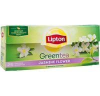 """Чай зеленый """"Lipton. Jasmine Flower"""" (25 пакетиков)"""
