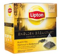 "Чай черный ""Lipton. English Brеakfast"" (20 пакетиков)"