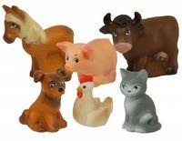 """Набор игрушек для купания """"Домашние животные"""" (6 шт.)"""