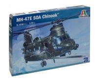 "Сборная модель ""Вертолет MH-47 E SOA Chinook"" (масштаб: 1/72)"