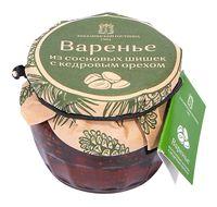 """Варенье из сосновых шишек """"Таёжный тайник. С кедровым орехом"""" (160 г)"""