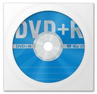 Диск DVD+R 4.7Gb 16X Data Standard 150 (в конверте)