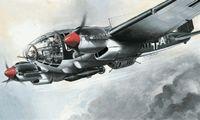 """Бомбардировщик """"Heinkel He-111 H-6"""" (масштаб: 1/72)"""