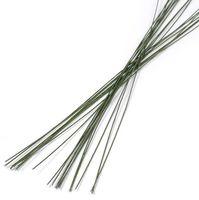 Проволока для керамической флористики №22 (300 мм; 20 шт; зеленый)