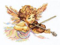 """Вышивка крестом """"Тонкие струны любви"""""""