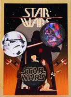 "Набор значков маленьких ""Star Wars"" (арт. 611)"