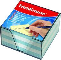 """Бумага для заметок """"Erich Krause"""" (90х90 мм; бело-голубая; арт. 2722)"""